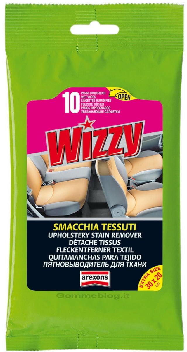Arexons Wizzy Smacchia Tessuti: per la rimozione di macchie vecchie e nuove
