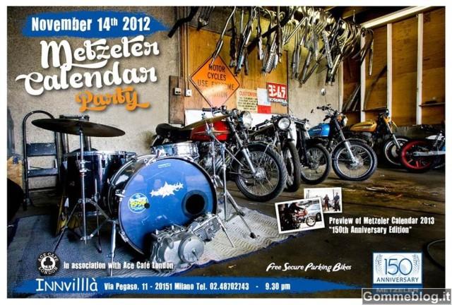 Calendario Metzeler 2013: Presentazione a EICMA 2012