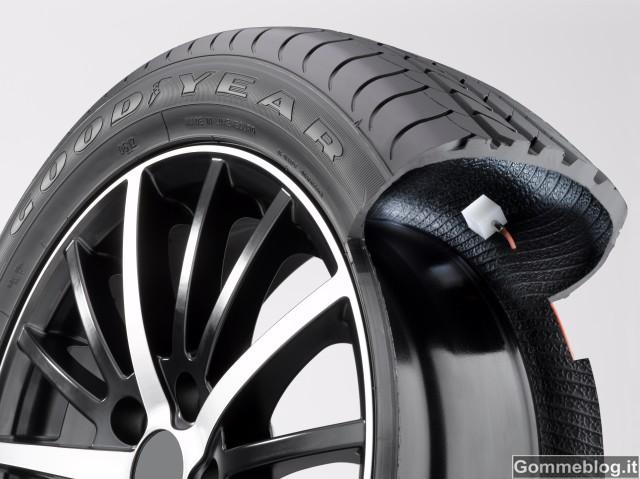 Goodyear AMT: il pneumatico che non va gonfiato