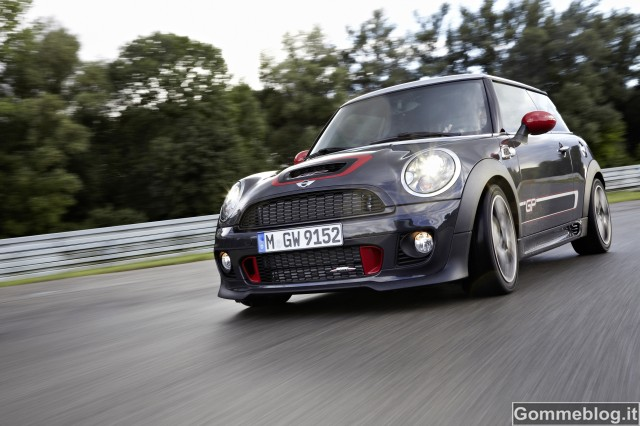 MINI John Cooper Works GP: Nata per correre
