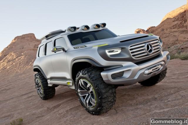 Mercedes Ener-G-Force: il fuoristrada di domani