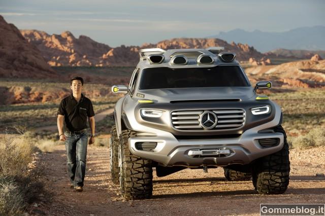 Mercedes Ener-G-Force: il fuoristrada di domani 2