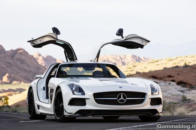 Mercedes SLS AMG Coupé Black Series: Prestazioni GT3 su strada