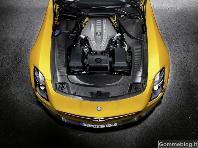 Mercedes SLS AMG Coupé Black Series: Prestazioni GT3 su strada 3