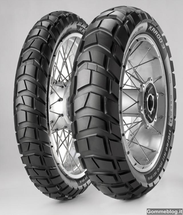Metzeler Karoo 3: nuovi pneumatici moto Enduro ON/OFF 1