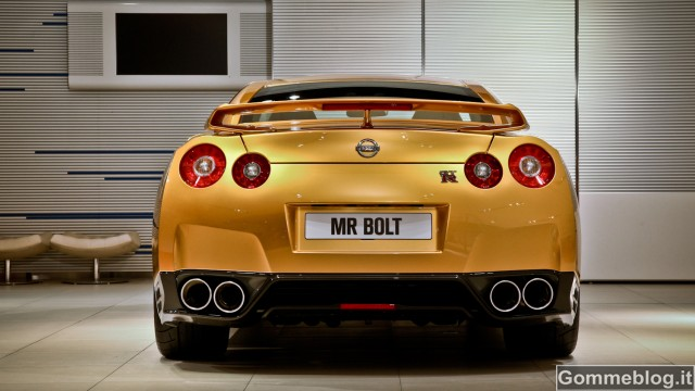 Nissan GT-R Bolt Gold: esemplare unico per beneficenza