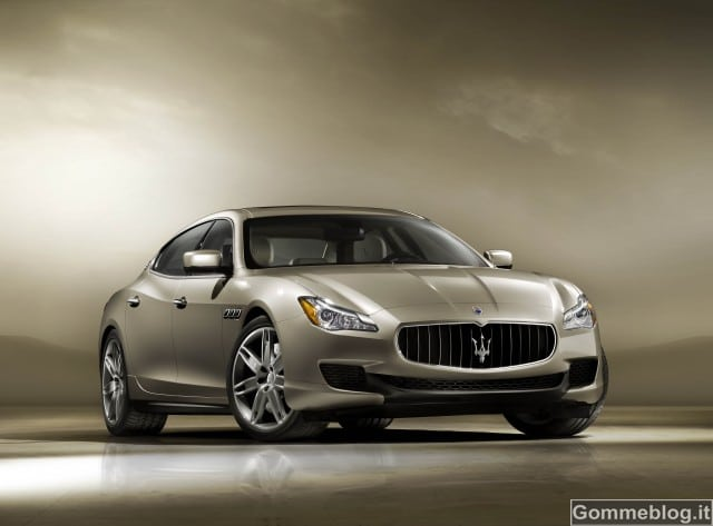 Nuova Maserati Quattroporte: debutto al Salone di Detroit