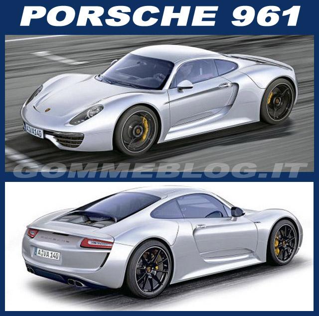 Porsche 961: Nuova Supercar a Motore Centrale