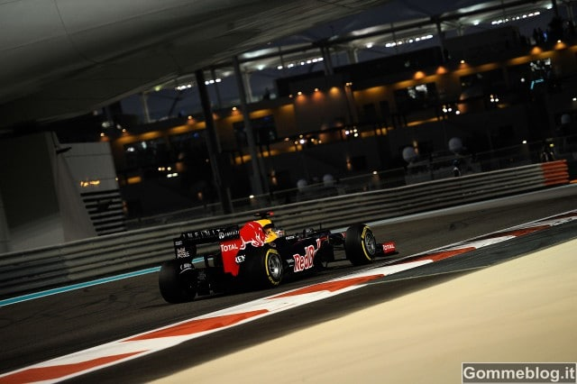 F1: Mezzo secondo separa Soft e Medie Pirelli ad Abu Dhabi