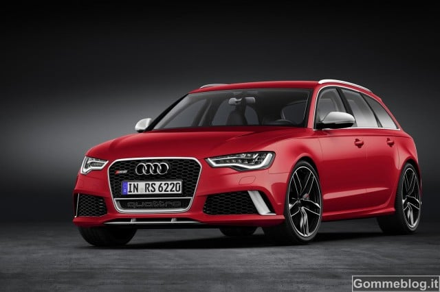 Audi RS 6 Avant: Performance all'avanguardia