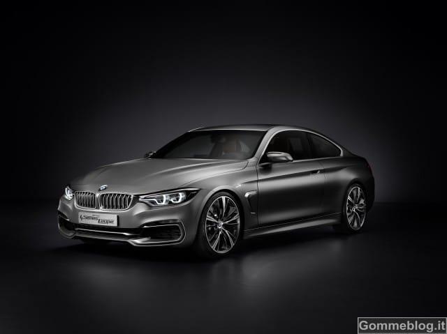 BMW Concept Serie 4 Coupé. Estetica, dinamismo, individualismo 3