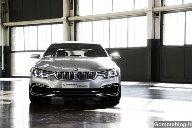 BMW Concept Serie 4 Coupé. Estetica, dinamismo, individualismo 13