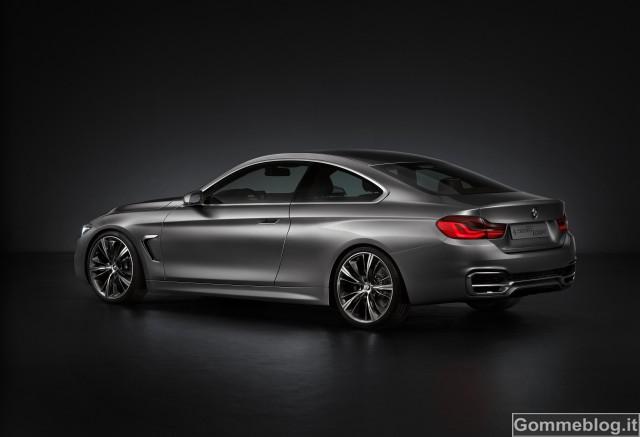 BMW Concept Serie 4 Coupé. Estetica, dinamismo, individualismo 2