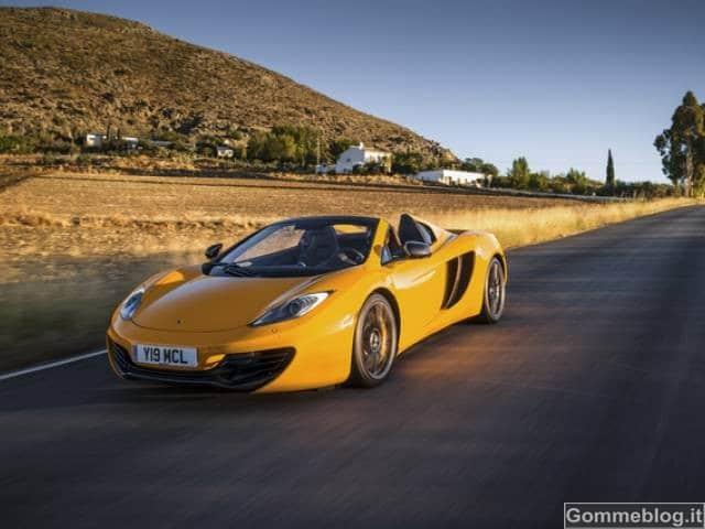 McLaren 12 Spider: anteprima italiana al Motor Show di Bologna