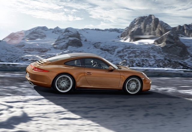 Porsche: Pneumatici Invernali ContiWinterContact TS 830 P per 911 e Boxster 1