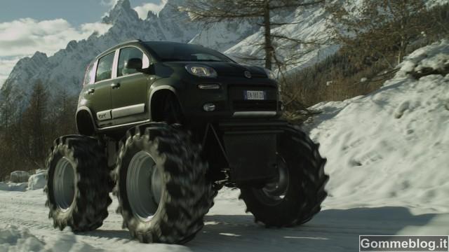 Fiat Panda Monster Truck: quando la realtà supera la fantasia