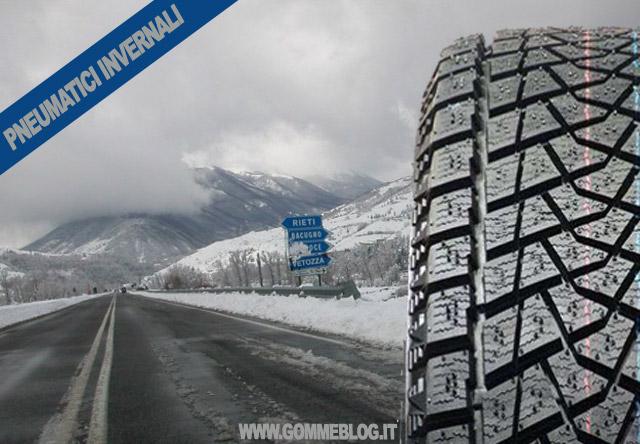 Pneumatici invernali Catene Da Neve. Fine dell'obbligo 2012 – 2013
