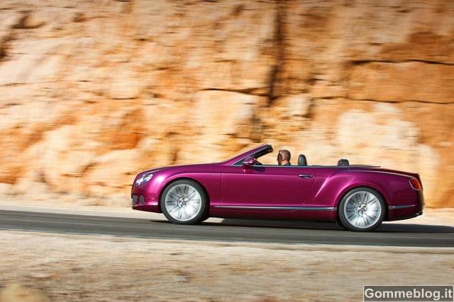 Bentley Continental GT Speed Convertible, la nuova ammiraglia ad alte prestazioni