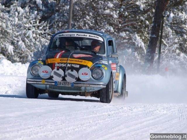 I pneumatici invernali Continental festeggiano 60 anni al Rallye MonteCarlo Historique