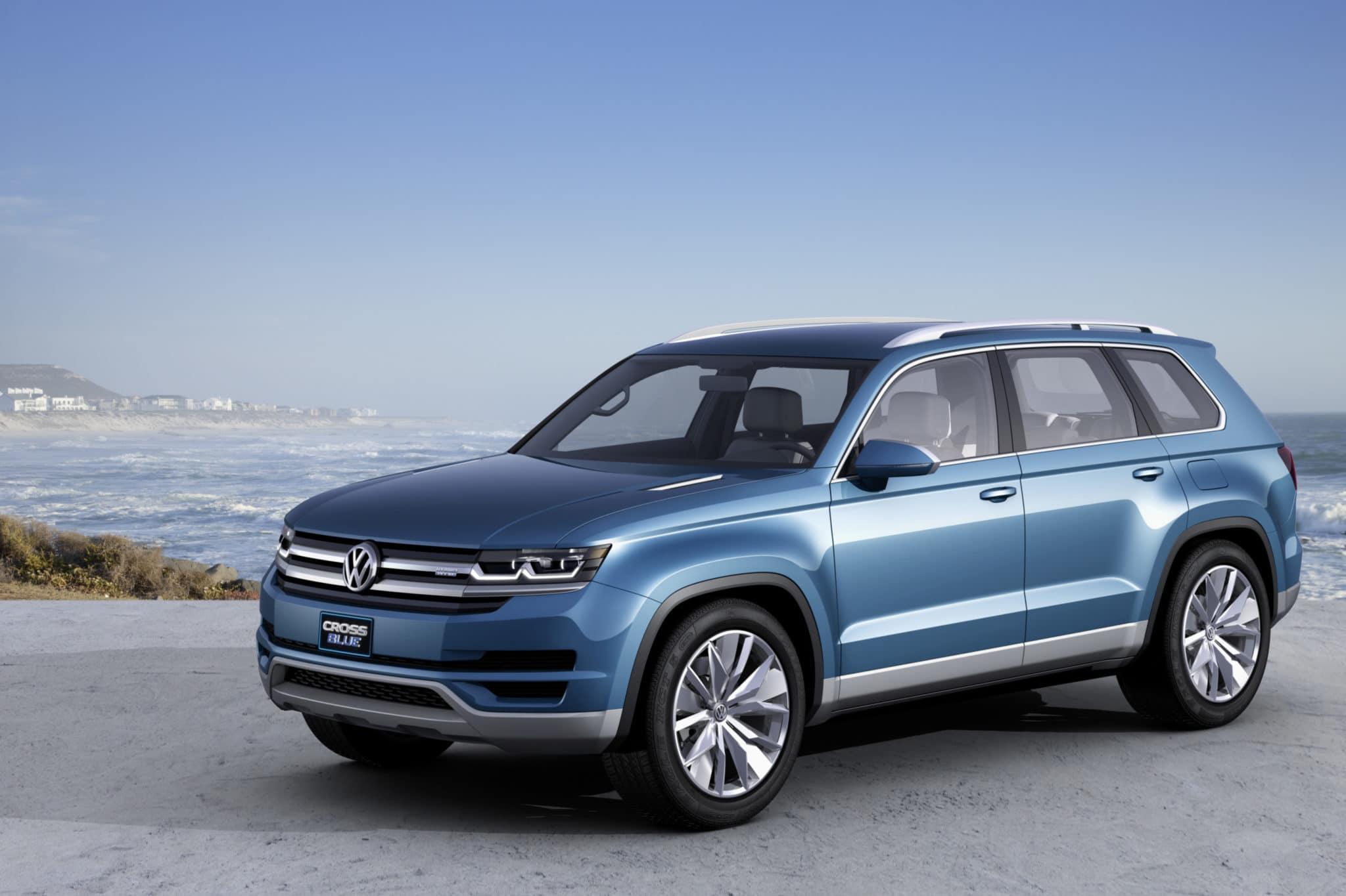 Volkswagen CrossBlue: anteprima mondiale a Detroit