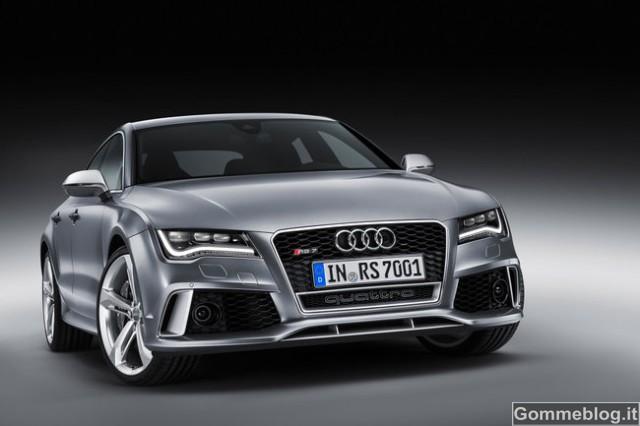 Audi RS 7 Sportback: dinamismo nella forma più bella