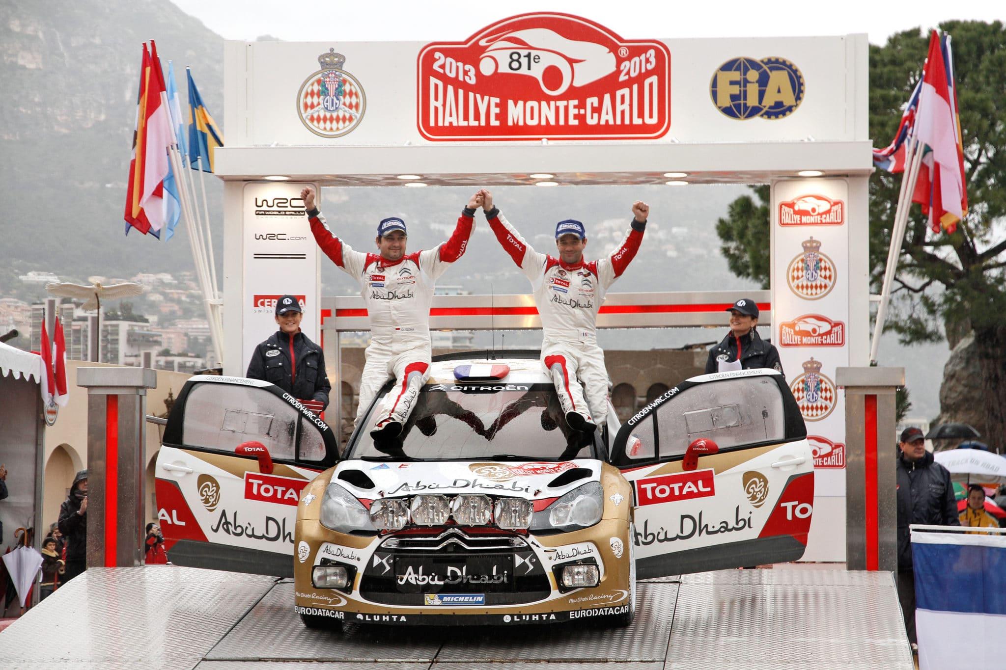 Rally di Montecarlo: 7° vittoria per Loeb su Citroen – Michelin