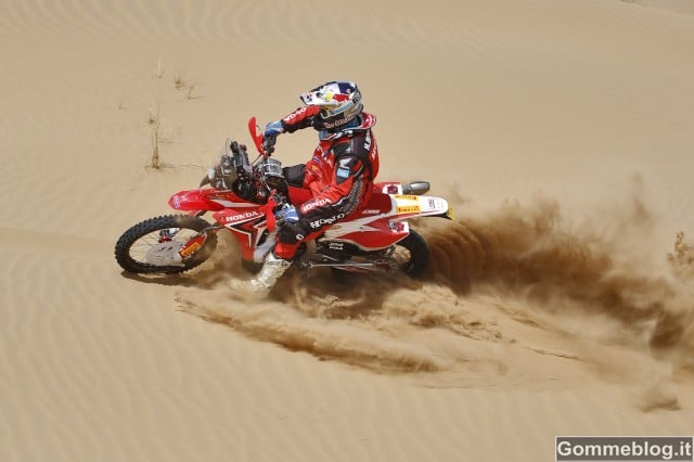 Dakar 2013: Pirelli fornitore del Team HRC Honda