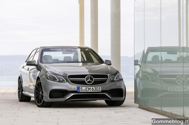 Nuova Mercedes E 63 AMG 4MATIC S: 0-100 in 3,6 soli secondi