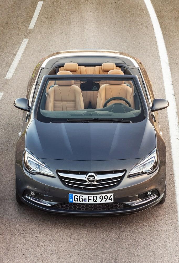 Opel Cascada, la prima cabriolet media di Opel