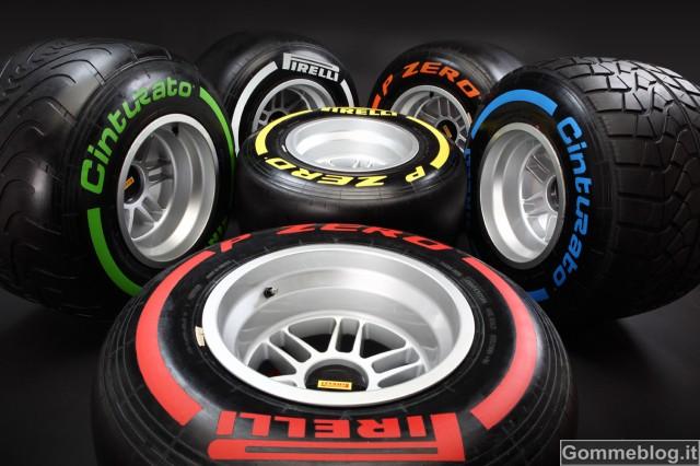 Formula 1 2013: prestazioni estreme per le nuove gomme Pirelli