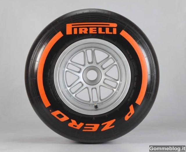 Gomme F1 2013: il nuovo regolamento su opzioni ed impiego