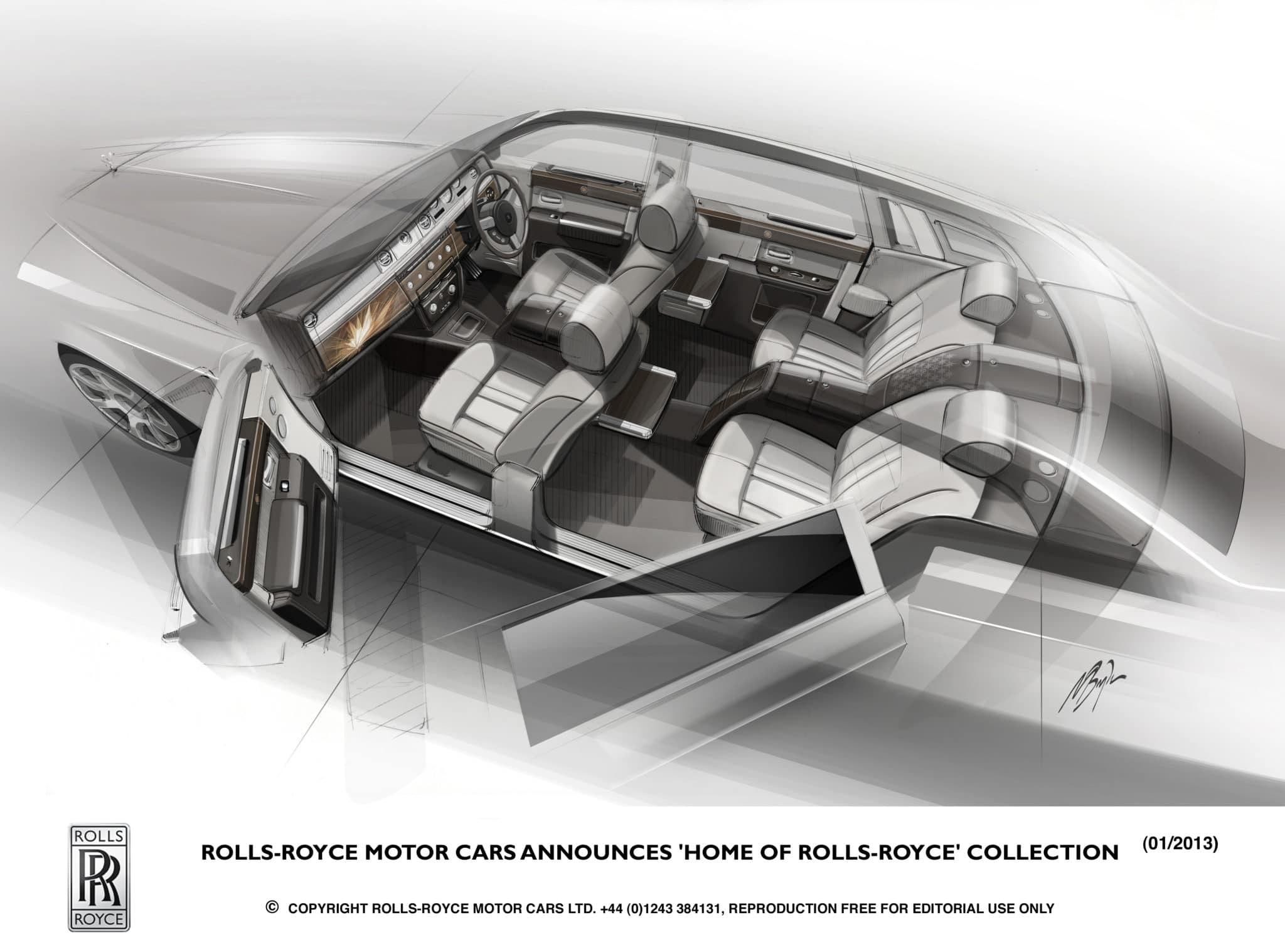 "Rolls Royce annuncia la ""Home of Rolls Royce"" Collection"