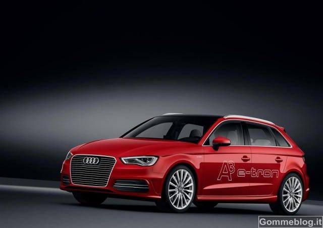 Audi A3 e-tron: nuovo ibrido plug-in da 204 CV e consumo di 1,5 litri per 100 km 3