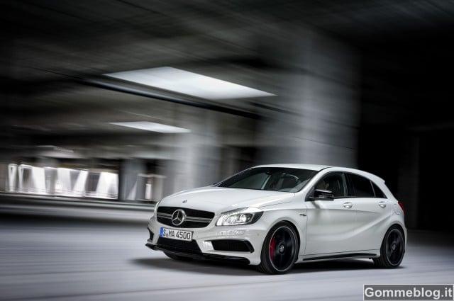 Mercedes Classe A 45 AMG: una nuova generazione High-Performance