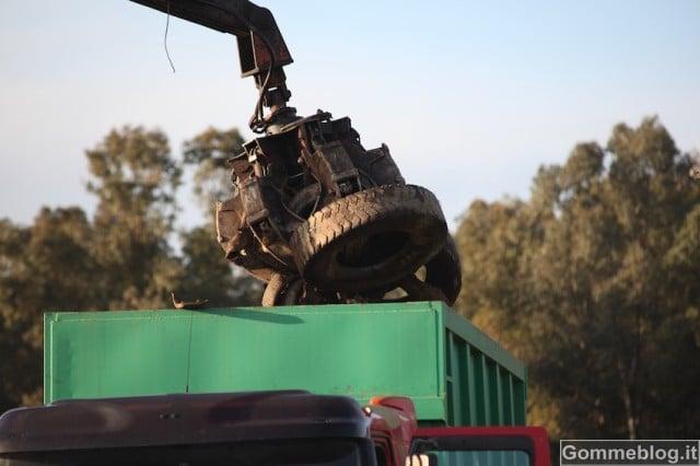 Ecco come si realizzano gli asfalti con la gomma da riciclo di Pneumatici Fuori Uso