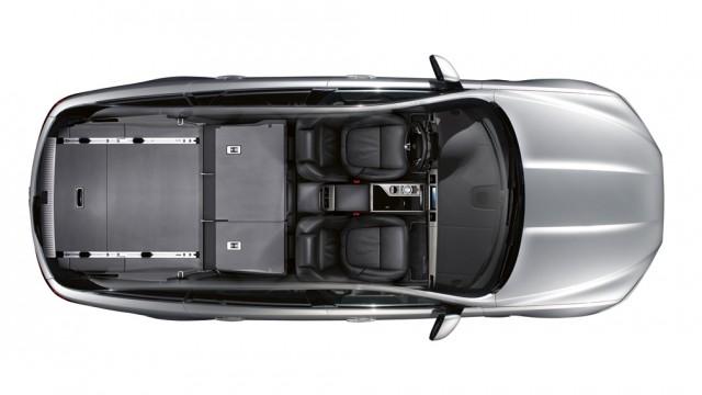 configurazione sedili Jaguar XF Sportbrake