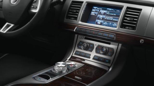 console centrale Jaguar XF sportbrake