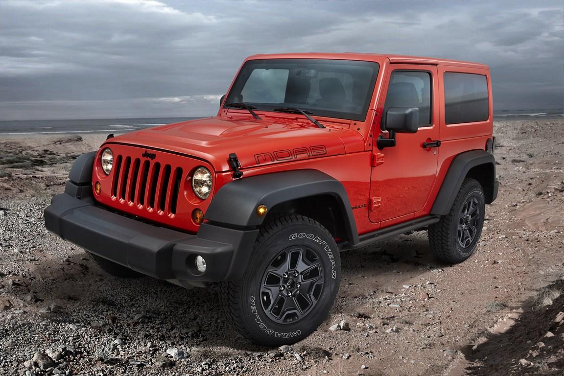 Jeep lancia in Italia la nuova Wrangler Moab