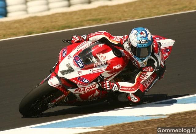 SBK 2013: prima giornata sfortunata per il Team SBK Ducati Alstare a Phillip Island
