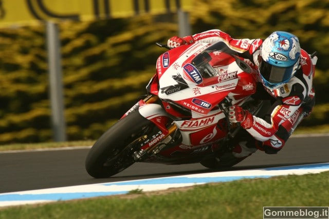 SBK 2013: Pole per Checa e la 1199 Panigale Team Ducati Alstare 4