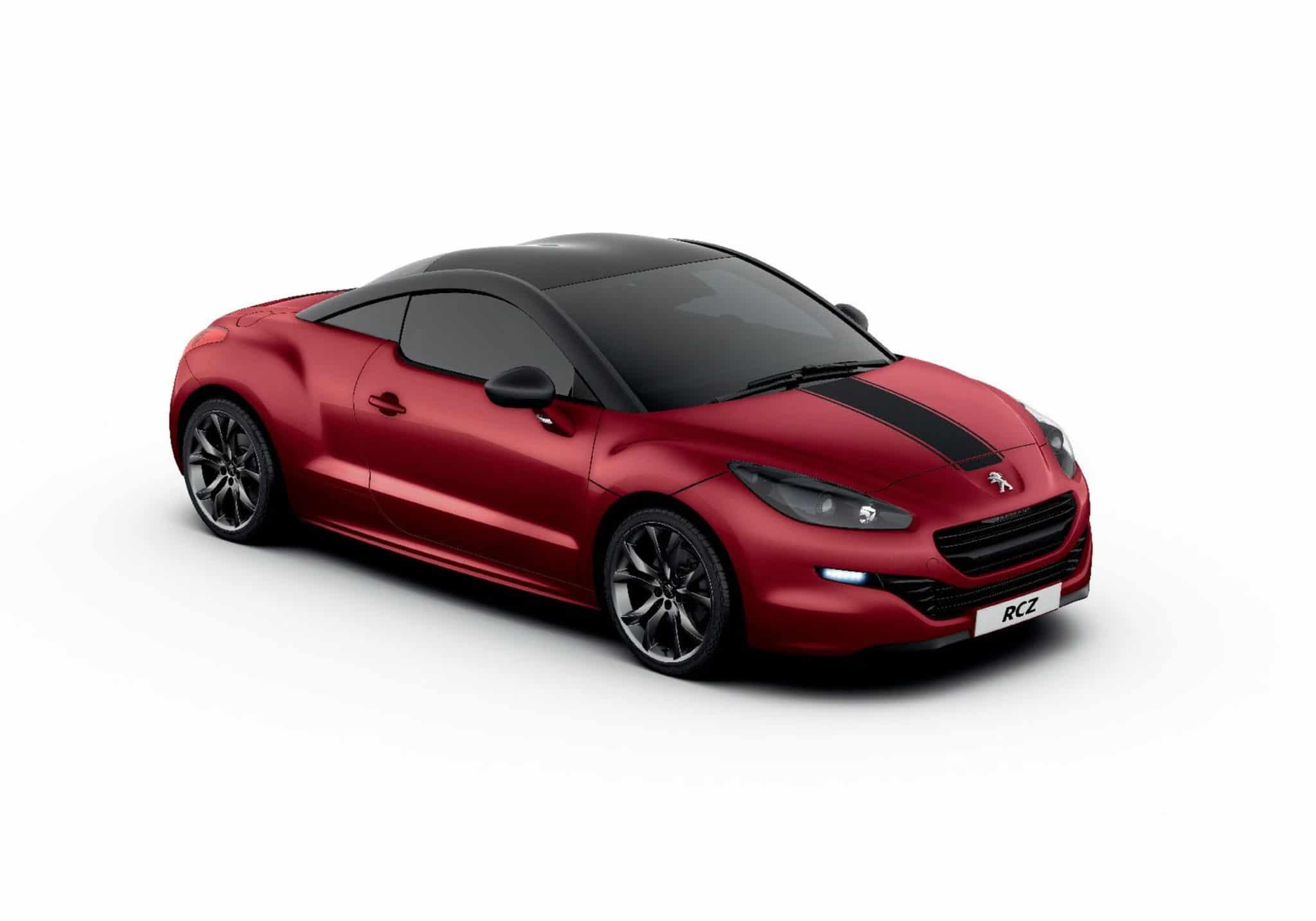 Nuova Peugeot RCZ: rinnovato design sportivo e prestazioni migliorate