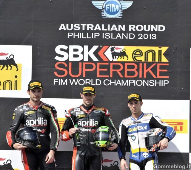 SBK 2013: I nuovi pneumatici Pirelli Diablo Superbike da 17 migliorano i tempi sul giro