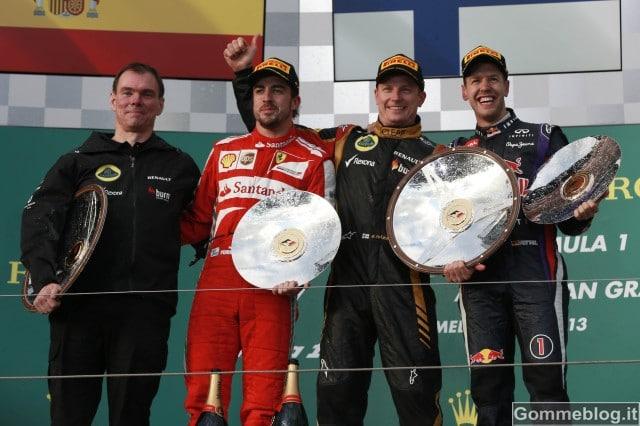 GP F1 Australia 2013: REPORT della Gara
