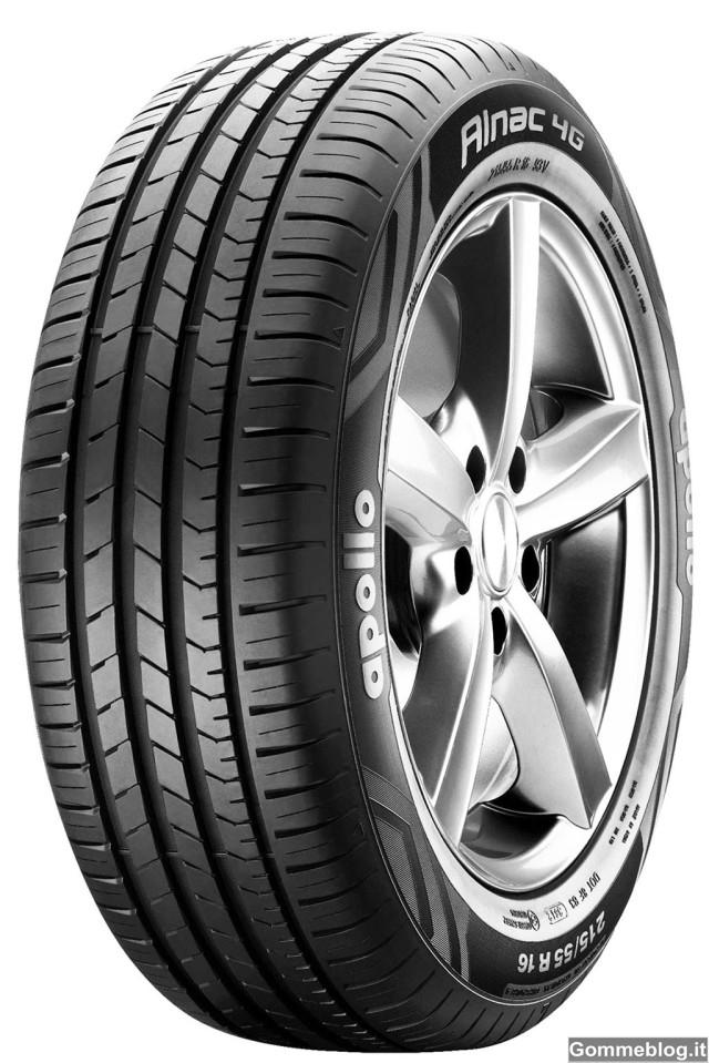 Apollo ALNAC 4G: nuovi pneumatici per auto compatte 2