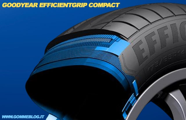 Goodyear EfficientGrip Compact: Nuovo Pneumatico Compatte e City Car 2