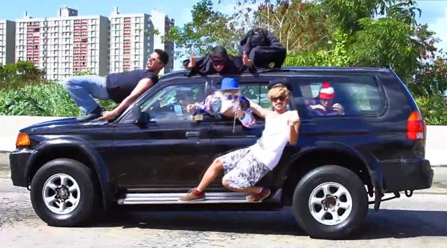 Harlem Shake in Auto: dal Portorico .. in barba al Codice Stradale