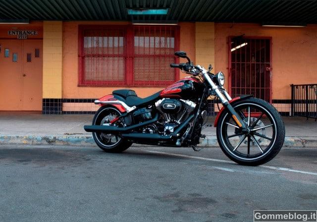 Nuovo Harley-Davidson Breakout: predatore urbano