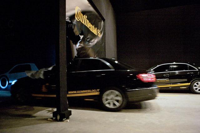 Continental: A Ginevra, un simulatore di frenata per verificare l'etichetta gomme