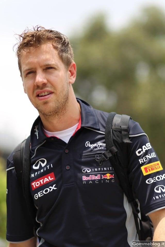 Gran Premio di Malesia 2013 – Griglia di Partenza – Pole per Vettel