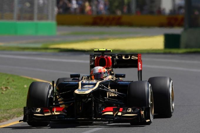 Lotus Grosjean Australia F1 2013